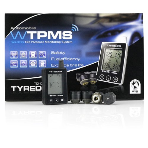 *New* Tyredog TD-1300-A-X-04 Tyre Pressure Monitoring Moitor System *TPMS*
