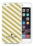 img - for Unique And Beautiful Designed Kate Spade iPhone 6 Plus White Phone Case 5.5 inch Screen 002 book / textbook / text book