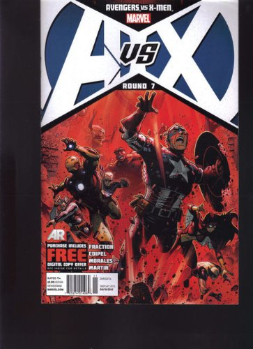 MARVEL AVX AVENGERS VS X-MEN ROUND 7 NEWSSTAND VARIANT EDITION - 1