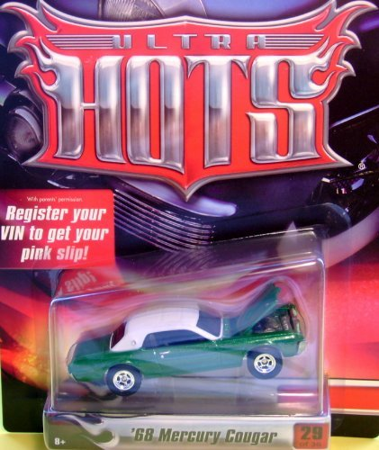 Hot Wheels Ultra Hots '68 Mercury Cougar Green