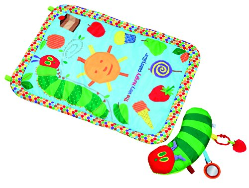 Kids Preferred Tummy Time Playmat and Pillow, The Very Hungry Caterpillar - 1