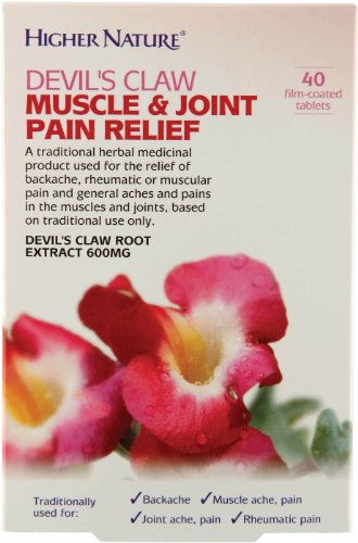 Higher Nature Devil's Claw Muscle & Joint Pain Relief - 40 coated tablets