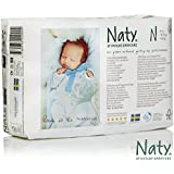 Naty Chlorine-Free ECO Diapers Newborn, 104 Count