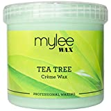 Mylee Tea Tree Creme Wax 450g Sensitive Skin Hair Removal Waxing