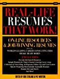 img - for Real-Life Resumes That Work: On-Line Resources and Job-Winning Resumes from the World's Leading Career Consulting Firm Drake Beam Morin: 1st (First) Edition book / textbook / text book