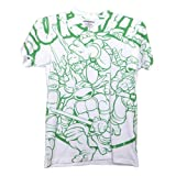 TMNT: Original Cartoon Style Tee - Adult