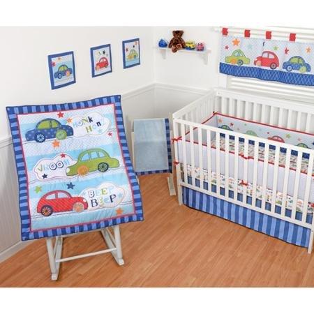 Sumersault Honk Honk Crib Bedding