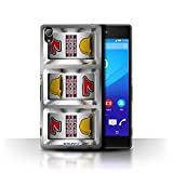 STUFF4 Phone Case Cover for Sony Xperia Z4 Bars Design Slot Machine Collection