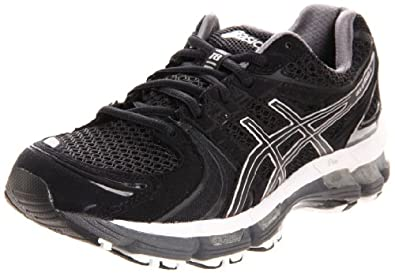 ASICS Women's GEL Kayano 18 Running Shoe,Black/Onyx/White,13 M US