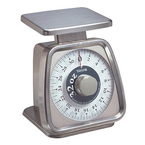 Rotating Kitchen Dial Scale 5 lbs. x 1/2 oz. Capacity 1 Each by Taylor