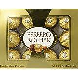 Ferrero Rocher Fine Hazelnut Chocolate 5.3oz