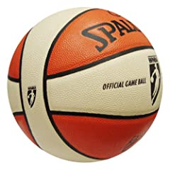 WNBA Official Game Basketball by Spalding