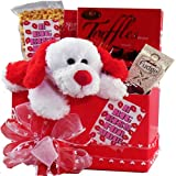 A Big Kiss For You! Puppy Love Care Package Gift Box
