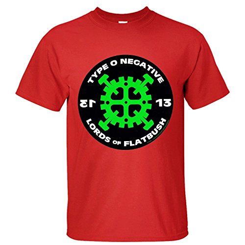 Yrewer Men's Type O Negative T Shirt