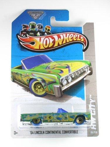 2013 Hot Wheels Treasure Hunt '64 Lincoln Continental Convertible