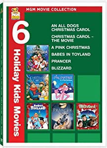 Mgm Movie Collection An All Dogs Christmas Carol Christmas Carol The Movie A Pink Christmas Babes In Toyland Prancer Blizzard from MGM (Video & DVD)