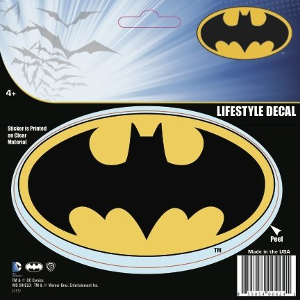 DC Comics Batman Logo Decal at Gotham City Store