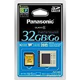 Panasonic 32GB SDHC Class 6 Memory Card (RP-SDV32GU1K) ~ Panasonic