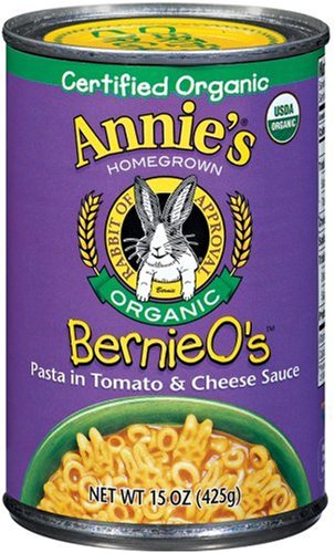 Annie's Homegrown Organic Bernie's, 15.0 Ounce Tins (Pack of 12)