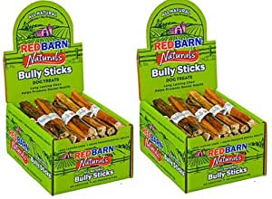 red barn 7 inch bully sticks 70 ct 2x35 ct case pet rawhide. Black Bedroom Furniture Sets. Home Design Ideas