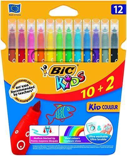 Bic Kids 949329 - Rotuladores de colores, 12 unidades
