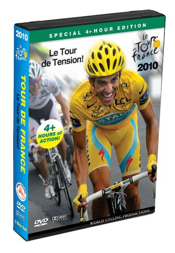 2010 Tour De France DVD, 4+ Hours, World Cycling DVD