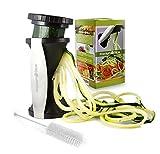 #1 Premium Spiralizer Bundle - Vegetable Spiral Slicer - Perfect For Diets - As Seen On TV!
