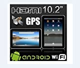 "10.2"" epad SUPERPAD3/Flytouch Froyo Google Android 2.2 tablet pc 4GB 512 mb ram video review"