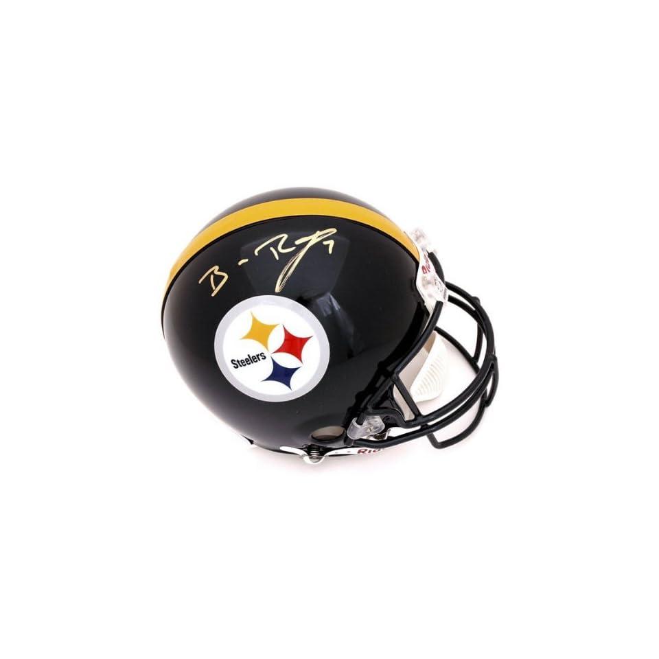 Ben Roethlisberger Autographed Pro Line Helmet  Details