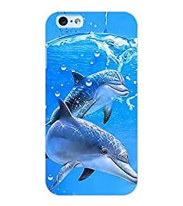 ColourCraft Dolfins Design Back Case Cover for APPLE IPHONE 6S