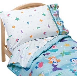 Olive Kids Mermaids Toddler Comforter Bed Set