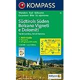 74: Tramin / Termeno - Cavalese 1:50, 000: Val di Cembra, Val di Fiemme. Wandern / Rad / Skitouren. Escursioni...