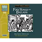 Alfred Deller : Folk Songs and Ballads - Int�grale des enregistrements Vanguard - Vol. 1  (coffret 7 CD)