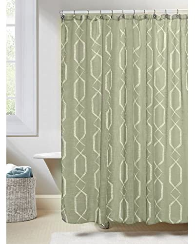 Duck River Textile Arcadia Shower Curtain, Sage