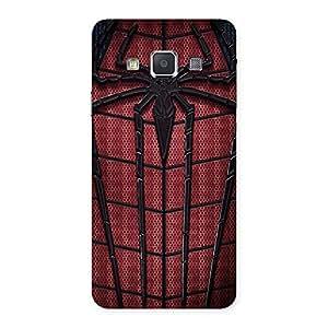 Stylish Premier Web Wear Multicolor Back Case Cover for Galaxy A3