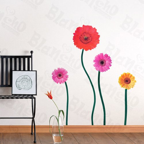 Joyful Flowerful - Large Wall Decals Stickers Appliques Home Decor