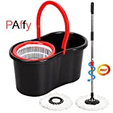 #5: PAffy Plastic Magic Spin Mop - Red & Black