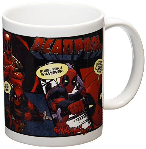 Deadpool Enesco-Tazza in ceramica, multicolore