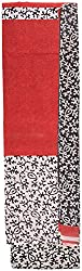 YR Traders Women's Cotton Straight Unstitched Dress Material (YR045, Red, Free Size)