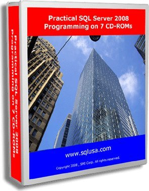 Practical SQL Server 2008 Programming on 7 CD-ROMs