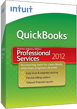 QuickBooks Premier Professional Services 2012 [OLD VERSION]