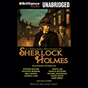 The Improbable Adventures of Sherlock Holmes | [John Joseph Adams (editor), Robert J. Sawyer, Christopher Roden, Michael Moorcock, Anne Perry, Neil Gaiman, Anthony Burgess, Laurie R. King]