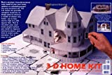 "3-D Home Kit: All You Need to Construct a Model of Your Own Home or Addition (with Booklet ""Architecture & Math Workshop Notes"")"