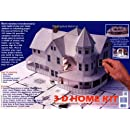 3-D Home Kit: All You Need to Construct a Model of Your Own Home or Addition