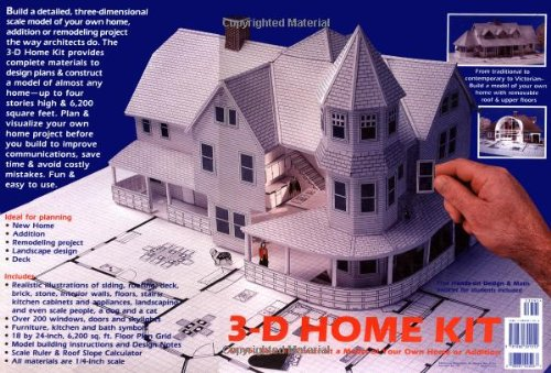 3-D Home Kit: All You Need to Construct a Model of Your Own Home or Addition (Model Home compare prices)