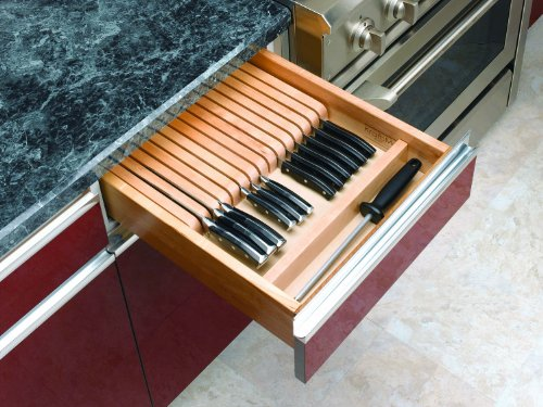 Rev A Shelf 4WKB-1 Wood Knife Block Insert