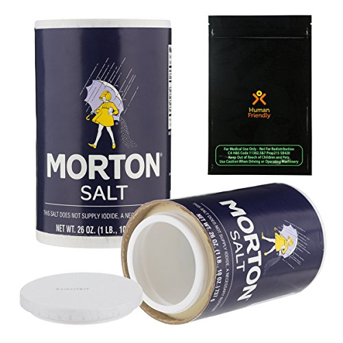 Morton Salt Diversion Safe Stash Can w HumanFriendly Smell-Proof Bag (Can Safe Storage Container compare prices)