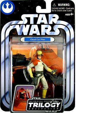 Star Wars, The Original Trilogy Collection, Cloud Car Pilot Action Figure #19, 3.75 Inches