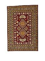 L'Eden del Tappeto Alfombra Azerbaijan Granate / Marrón 195  x  131 cm