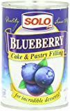 Solo Filling, Blueberry, 12-Ounce Unit (Pack of 12)